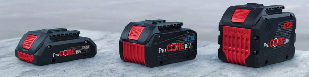 bosch procore battery
