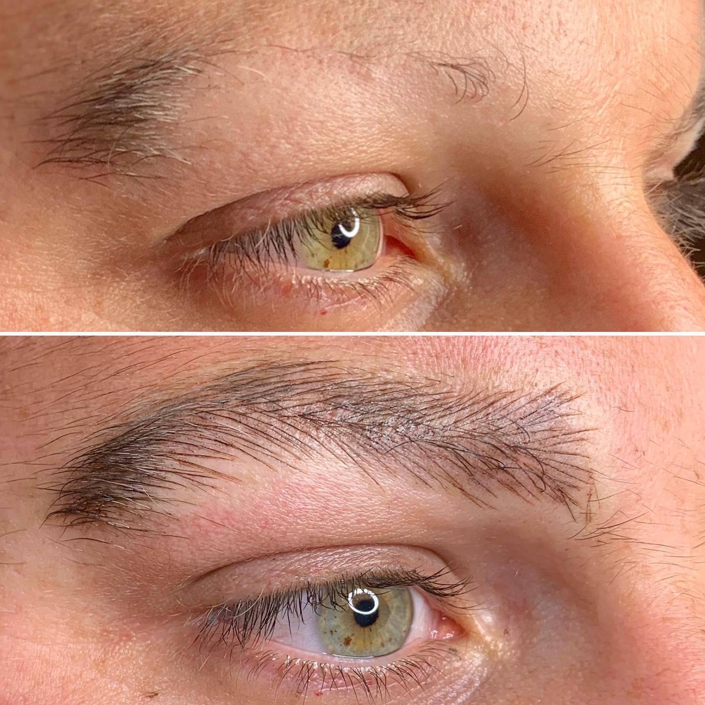 Men's Eyebrow Microblading   Men's Eyebrow Tattooing   Men ...