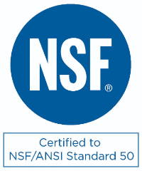 NSF Certification stamp
