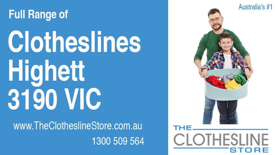 New Clotheslines in Highett Victoria 3190