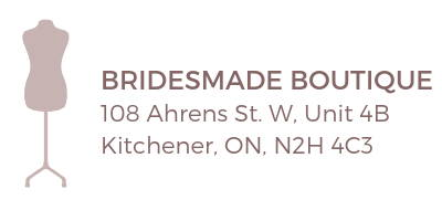 bridesmade boutique kitchener