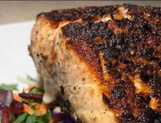 Crispy Skin Thai Salmon - Thai Seven Spice
