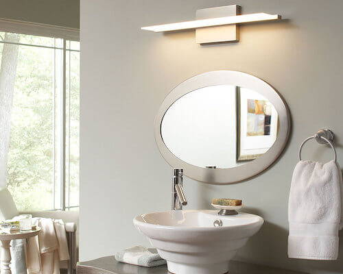 Tech Lighting Span Bathroom Light