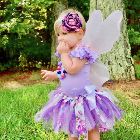 Light purple fairy Halloween costume