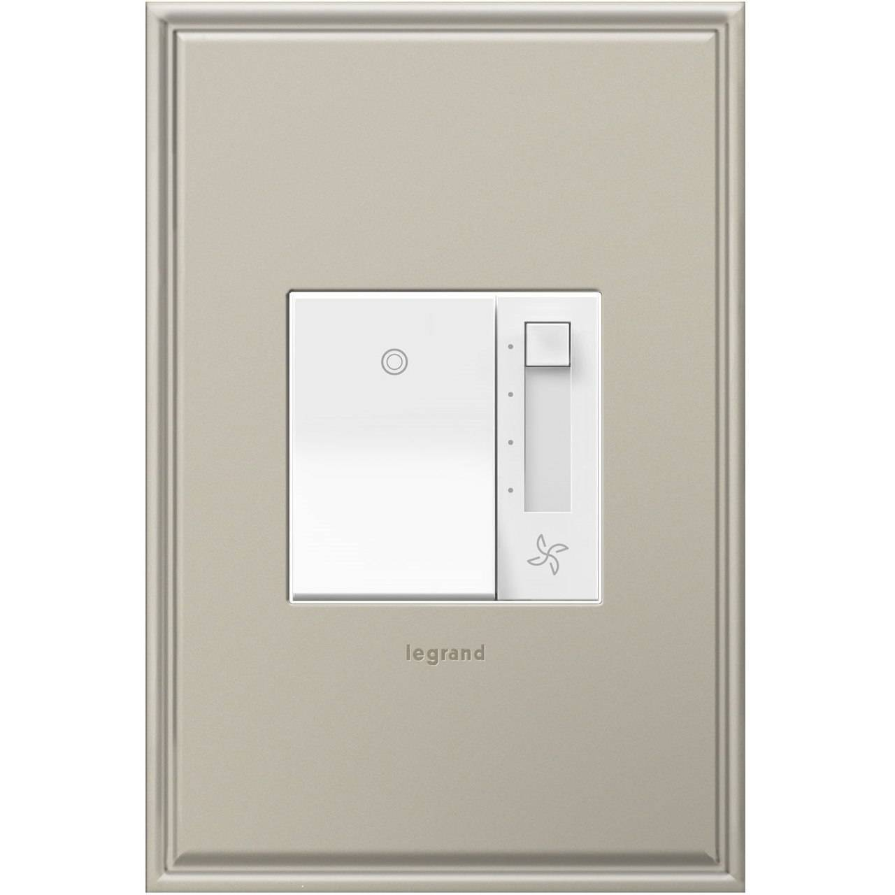 Legrand adorne paddle fan control switch for lighting system