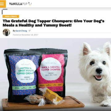 The Grateful Dog media feature