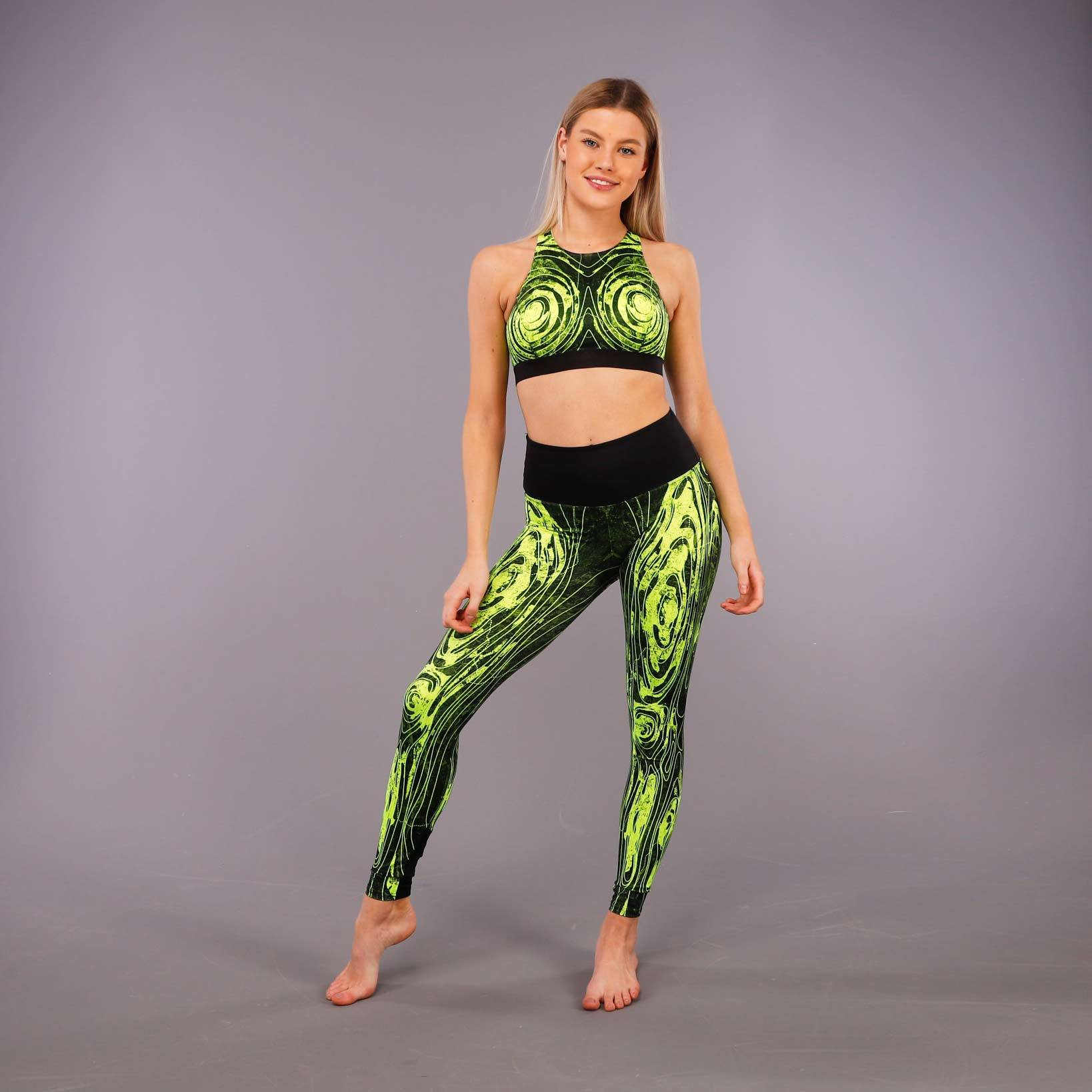 3RD ROCK's showstopper contour leggings and bra