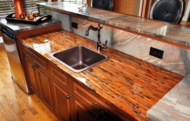 Epoxy Countertops Homeadvisor's countertop repair & resurfacing cost guide gives costs of countertop refinishing like with epoxy resin. epoxy countertops