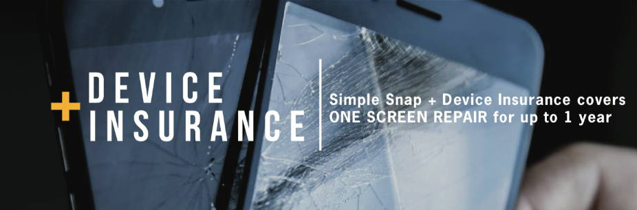 Simple Snap + Device Insurance