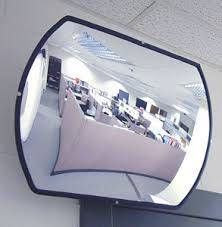 miroirs convexes rectangulaires