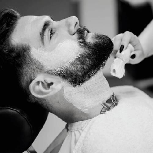 Guy with Sensitive Skin Wet Shaving