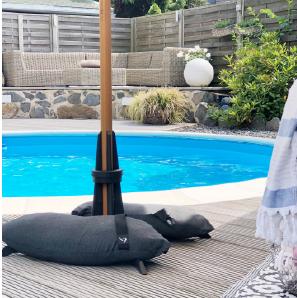 Baser Sonnenschirmständer Schwimmbecken Swimmingpool Wasser Schwimmen Garten