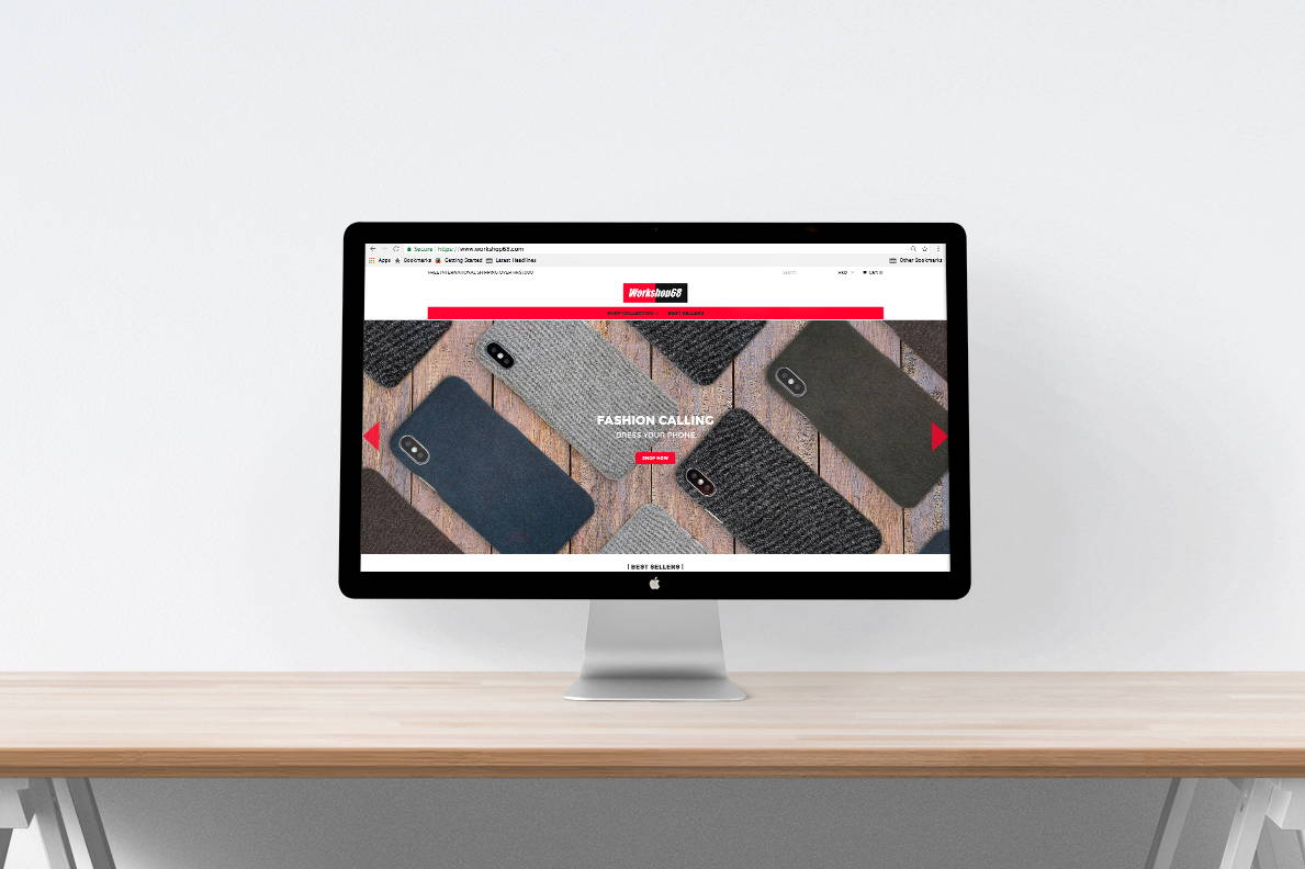 eCommerce web design | Blank Sheet