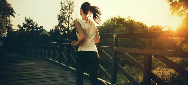 Fitness und Laufen
