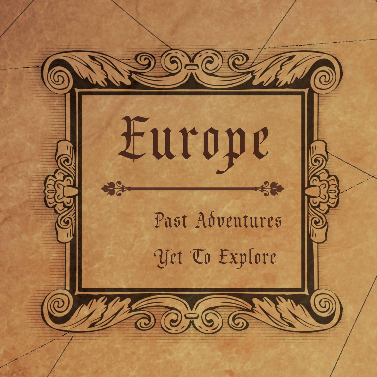 Conquest Maps Golden Aged Europe Legend