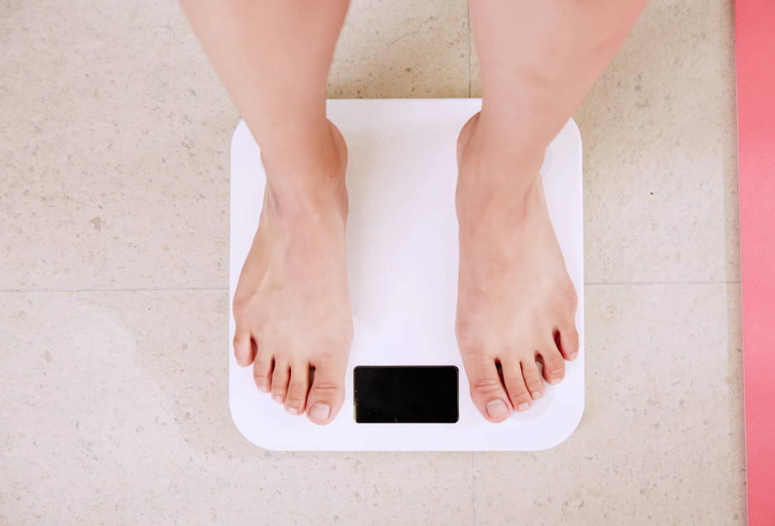 CBD weight loss scales