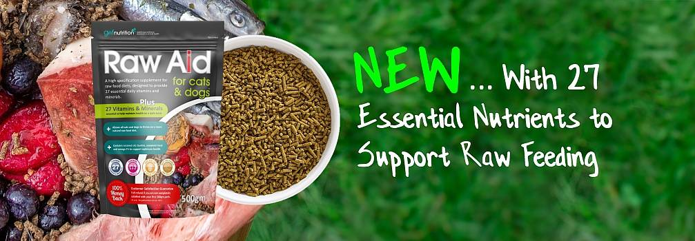 Raw food supplement Raw Aid for Cats & Dogs
