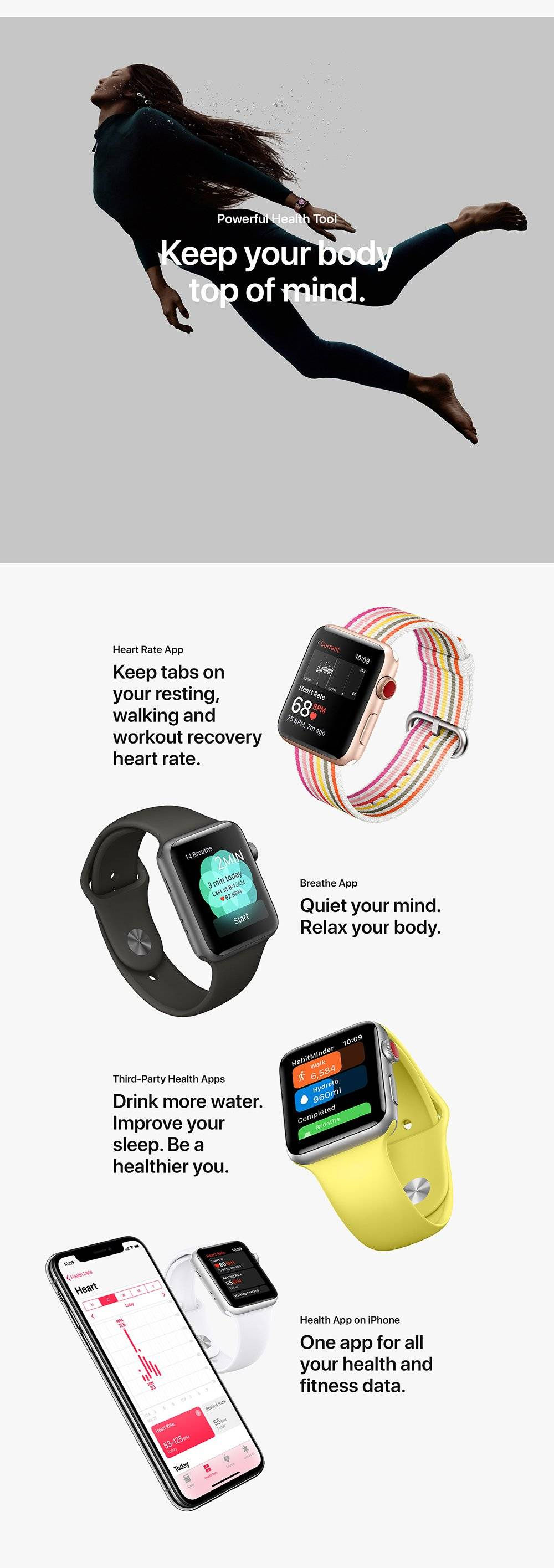 Apple Watch Series 3 (GPS + Cellular) – iWorld Connect