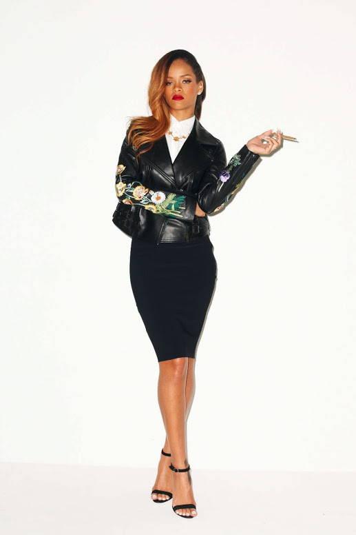 Rihanna power pose