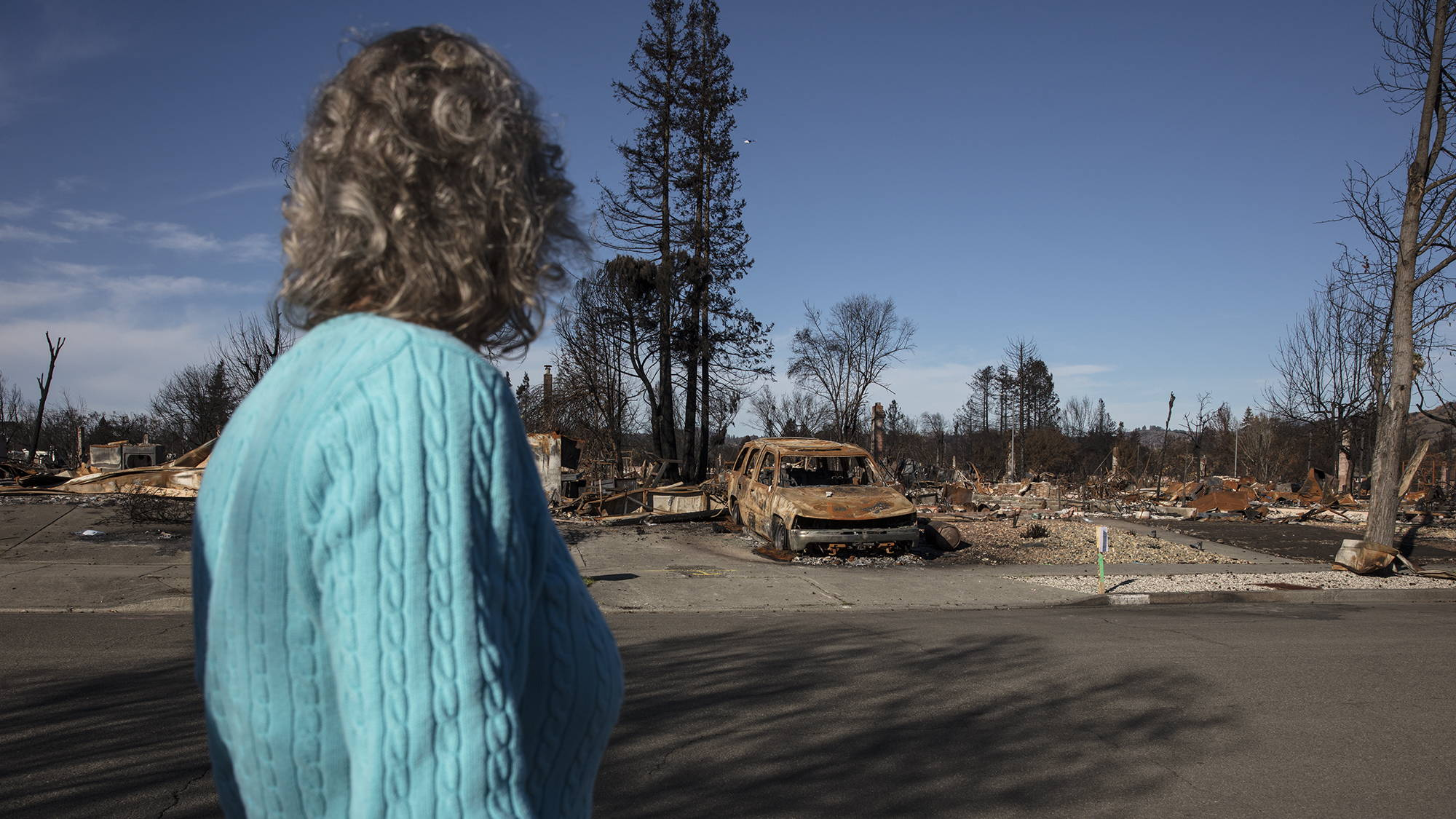 Wildfire Aftermath at Coffey Park