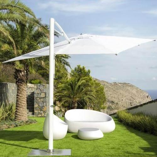 Patio Decor - Vondom Cantilever Umbrella