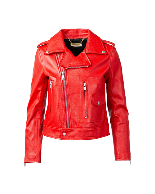 Red Leather Jacket  | Holiday Gift Guide | J.ING