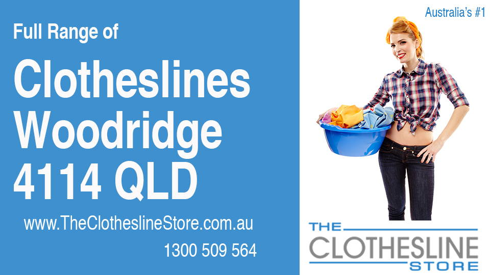 New Clotheslines in Woodridge Queensland 4114