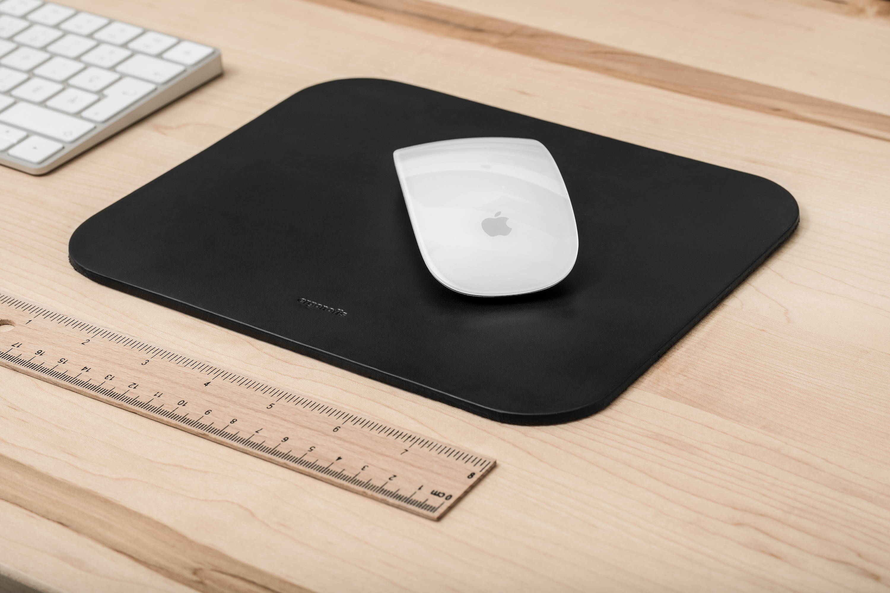 Leather mouse pad - ergonofis
