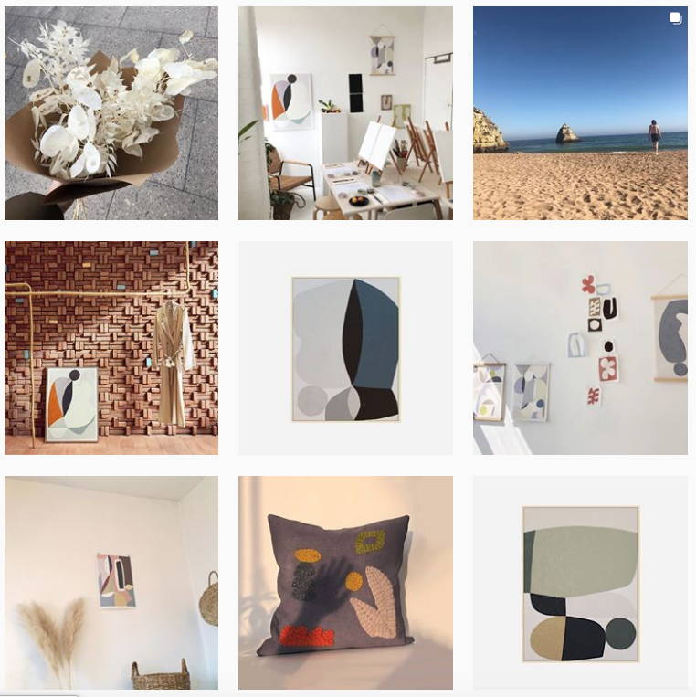 Images from Laurie Maun's Instagram