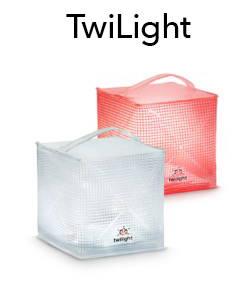 TwiLight. Portable solar lantern.