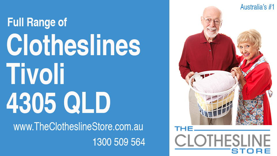 New Clotheslines in Tivoli Queensland 4305