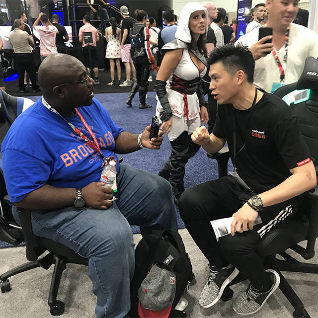 Anda Seat interviewed at E3