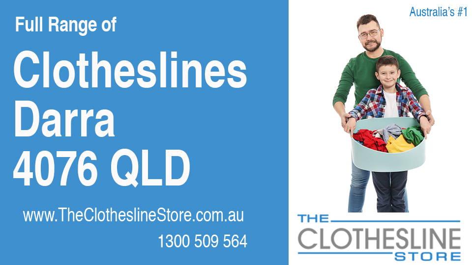 New Clotheslines in Darra Queensland 4076