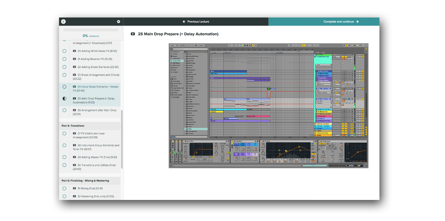 ableton melodic techno course example 2