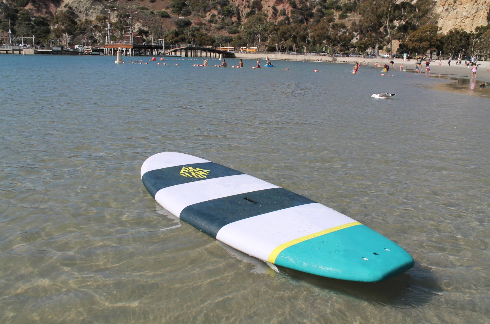 This is the best kids paddle board. Grom kids stand up paddle board by Pau hana