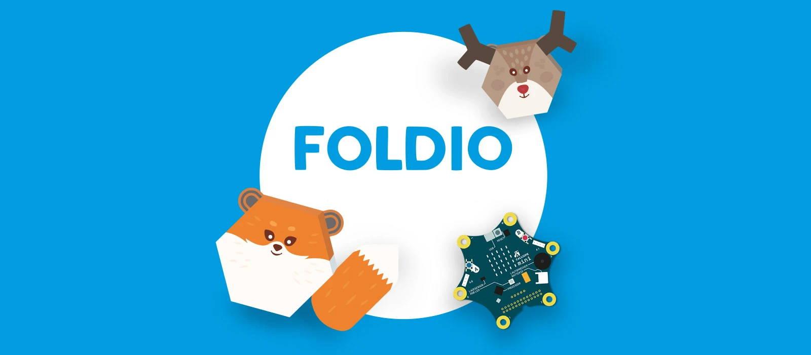 Foldio - Programmieren lernen - digitale Welt - spielerisch | Foldio