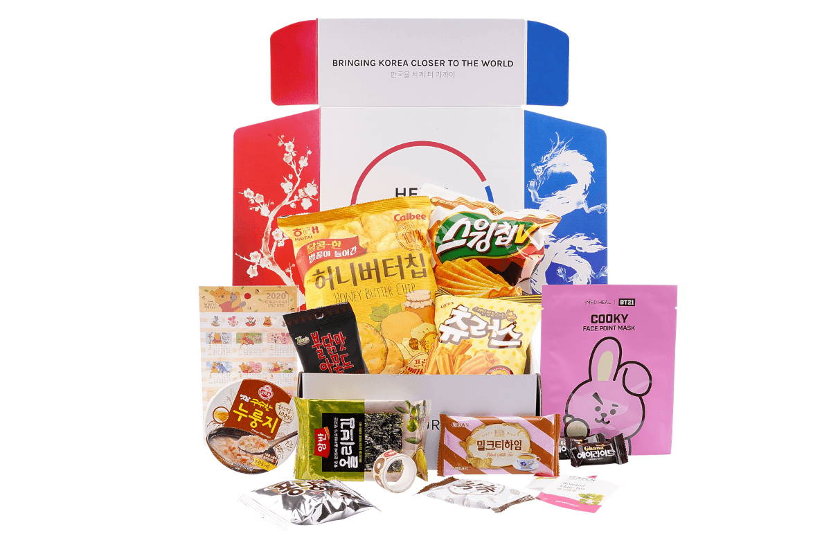 KPOP GIFT KOREA BOX  BTS BOX halal