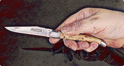Classic Laguiole pocket knife 12 cm