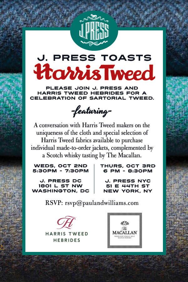 Harris Tweed Invite