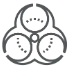 Decontamination icon