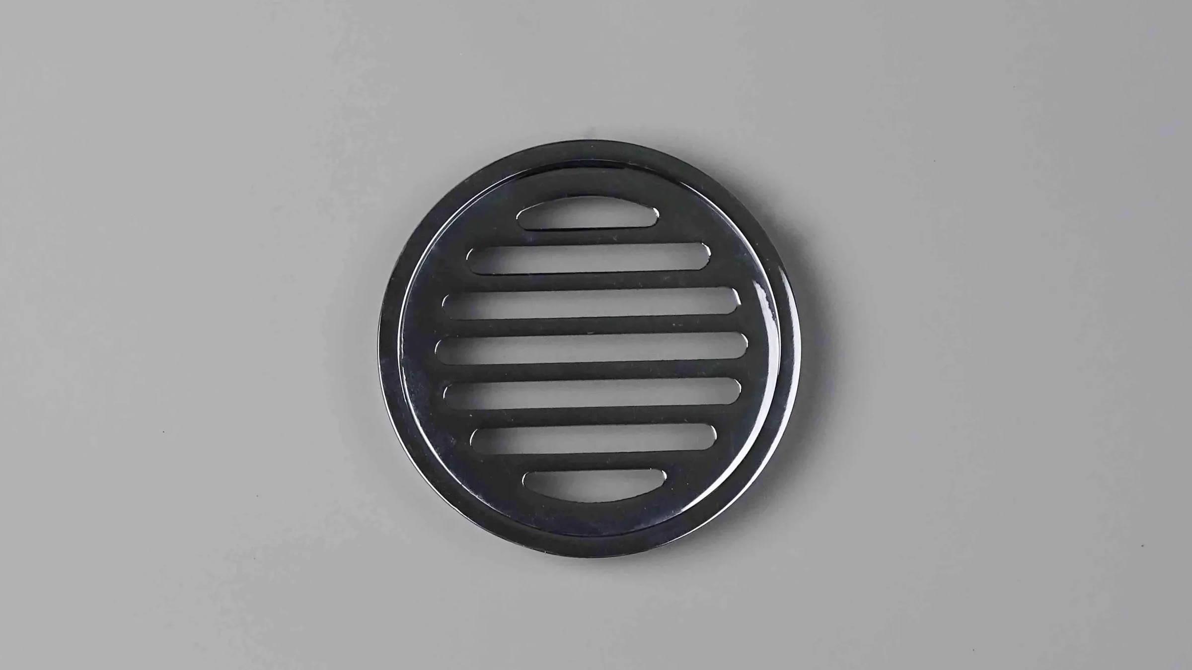 Round Chrome Brass Shower Drain Grate
