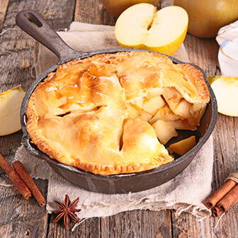 High Quality Organics Express blue ribbon apple pie