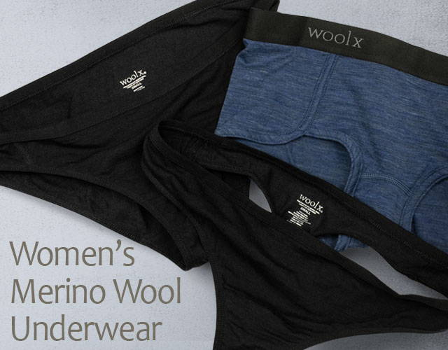 f54146d286ce Womens Merino Wool Underwear - Wool Underwear For Women - Free Shipping  tagged