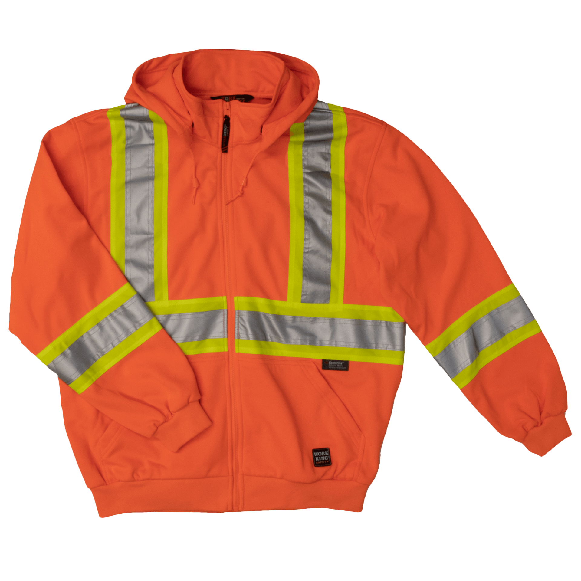 High Visibility Safety Hoodie - Tough Duck S494