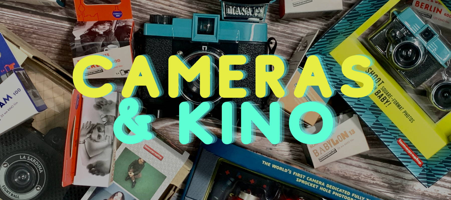 Lomography Cameras and Kino