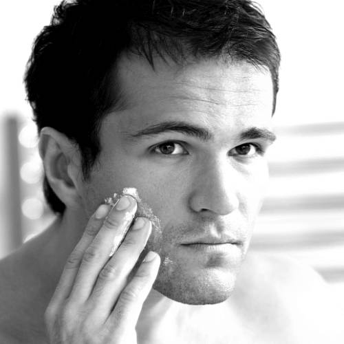 Shaving with a Sensitive Skin