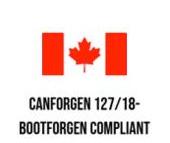 CANFORGEN 127/18 - BOOTFORGEN Compliant