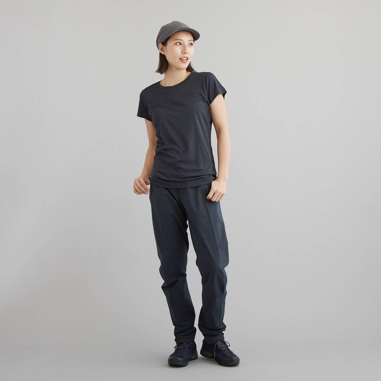 HOUDINI(フーディニ)/ダイナミックT/ブラック/WOMENS