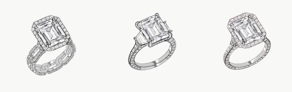 custom design anniversary ring