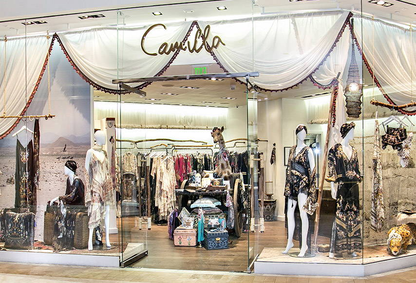Camilla South Coast Plaza Boutique